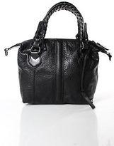 Pauric Sweeney Black Leather Top Handle Shoulder Handbag New