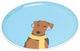 Joules Barking Side Plate - Airedale
