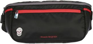 Alexander McQueen Logo Printed Belt Bag