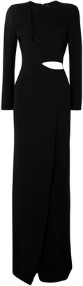 Haider Ackermann Cutout Crepe Gown