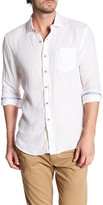 Report Collection Enzyme Wash Linen Regular Fit Shirt