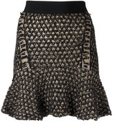 Cecilia Prado knit flare skirt - women - Acrylic/Lurex/Polyamide - PP