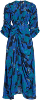 Preen by Thornton Bregazzi Aurelia floral-print silk dress