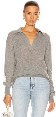 KHAITE Jo Pullover in Warm Grey | FWRD