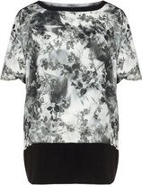 Isolde Roth Plus Size Floral print oversized top