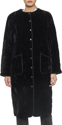 Anine Bing Elsa Velvet Jacket