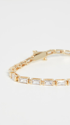 Luv Aj The Baguette Eternity Bracelet