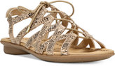 Naturalizer Whimsy Lace-Up Flat Sandals