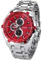 Curren 8023 Waterproof Men's Round Dial Quartz Wrist Watch with Stainless Steel Band