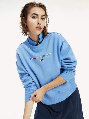 Tommy Hilfiger Multicolour Logo Relaxed Fit Sweatshirt