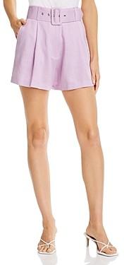 re:named apparel Re: Named Belted Shorts