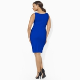 Ralph Lauren Sleeveless Cowlneck Dress