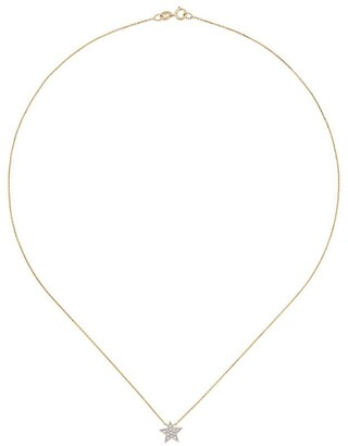 Dana Rebecca Designs diamond and 14kt gold Julianne Himiko Star necklace