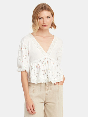 Free People Sweeter Side Crop Top