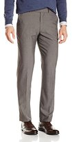 Perry Ellis Men's Grey Herringbone Suit Separate Pant