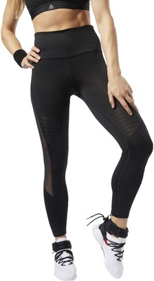 Reebok Women's Studio Mesh Tights Pants