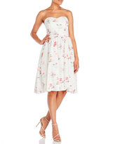 Yumi Tea & Macaroons Strapless Party Dress