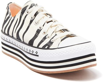 Converse Chuck Taylor All Star Platform Layered Oxford Sneaker