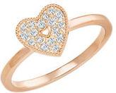 Swarovski Field Crystal Heart Ring