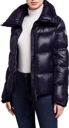 Moncler Bandama Zip-Sleeve Puffer Coat