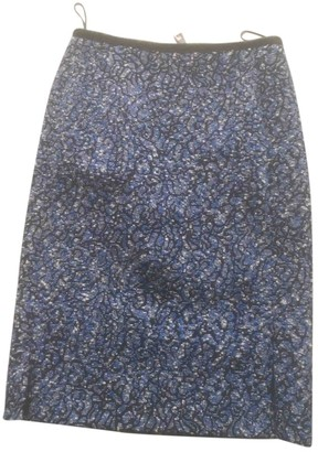 Louis Vuitton Blue Cotton Skirt for Women