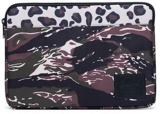 """Herschel Anchor 13"""" Macbook Sleeve Tiger Camo Leopard"""