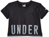 Under Armour Girls' Cropped Performance Tee - Sizes XS-XL