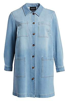 Lafayette 148 New York Lafayette 148 New York, Plus Size Women's Corinthia Denim Jacket