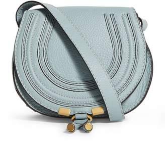 Chloé Mini Leather Marcie Saddle Bag