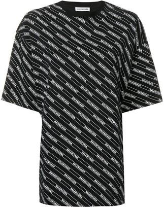 Balenciaga Bal all over T-shirt