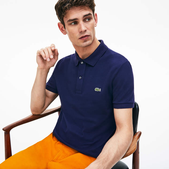 b2eae308 Men's Petit Pique Slim Fit Polo Shirt