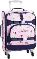 Pottery Barn Kids Mackenzie Pink & Navy Puppy Backpacks