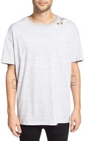 Zanerobe Men's 'Stripe Rugger' Oversize Crewneck T-Shirt
