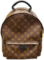 Louis Vuitton Palm Springs leather backpack