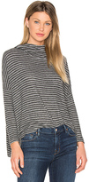 Sundry Drapey Pullover in Charcoal. - size 0 / XS (also in )