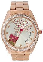 Betsey Johnson Betseys Holiday Bubbles Popping Watch