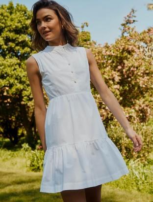 Forever New Billie Shirt Smock Dress - Porcelain - 10