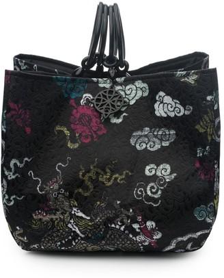 Natori Dragon Jacquard Small Bag
