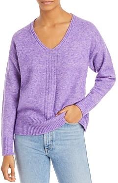 Aqua V Neck Knit Sweater - 100% Exclusive