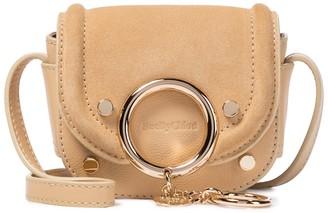 See by Chloe Mara Micro suede shoulder bag