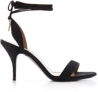 Tabitha Simmons Ace Suede Lace-Up Sandals