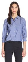 Theory Women's Perfect Icon Cotton Button Down Shirt
