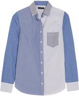 J.Crew Cocktail Striped Cotton-poplin Shirt - Blue