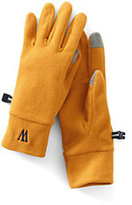 Classic Women's 100 Fleece Heathered Gloves-Jet Black