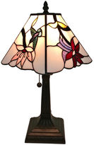 AMORA Amora Lighting AM211TL08 Tiffany Style Multicolored Mission Table Lamp 15 inches