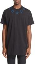Givenchy Men's Star Applique Short Sleeve T-Shirt