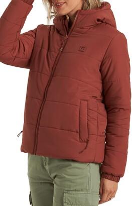 Billabong Transport Hooded Water Repellent Puffer Jacket