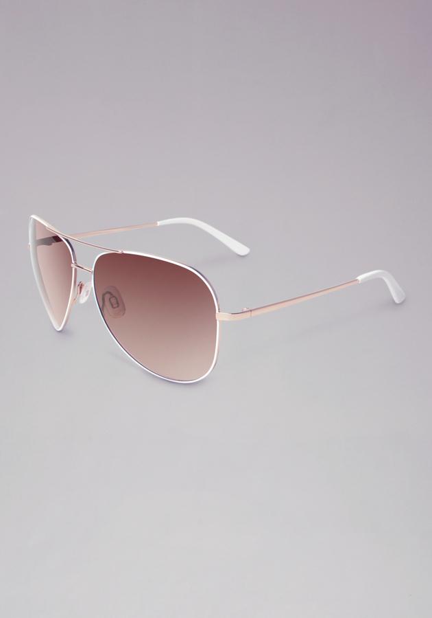 Bebe Aviator Sunglasses