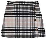 F&F Checked A-Line Skirt
