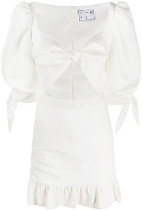 In The Mood For Love Sweetheart mini dress